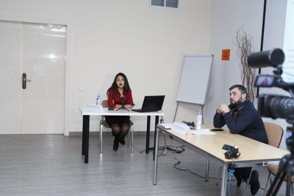 Выступление врача рентгенолога Васильевой